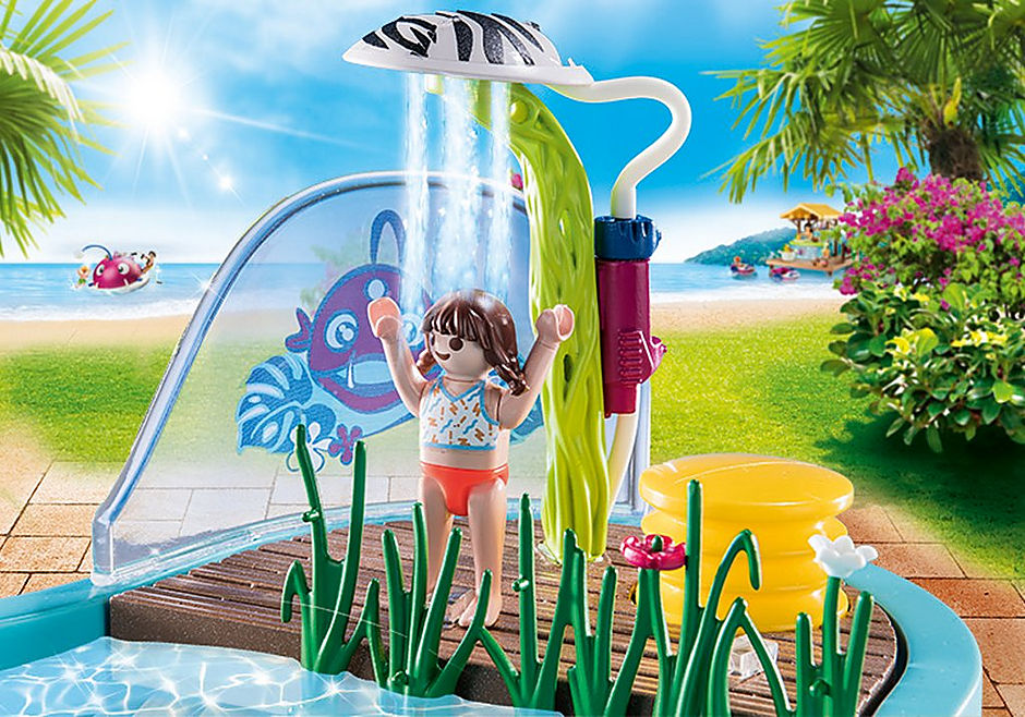 70610 Lekbassäng med vattenspruta detail image 5
