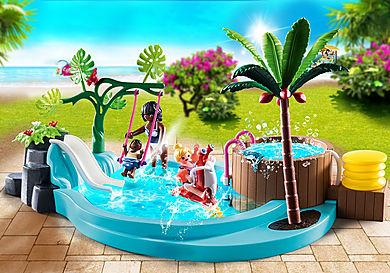 70611 Kinderzwembad met whirlpool
