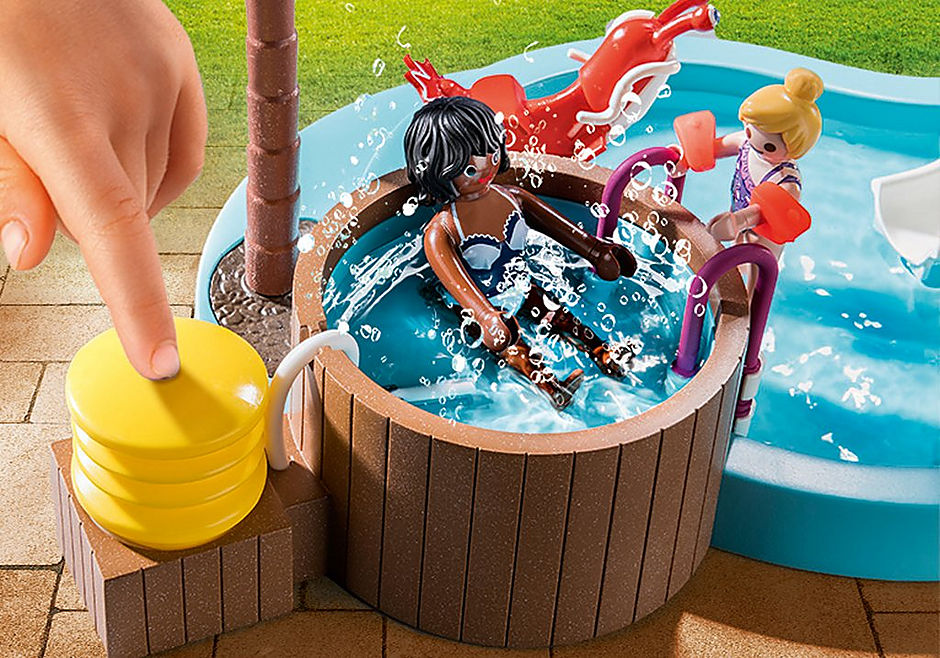 70611 Pataugeoire avec bain à bulles detail image 4
