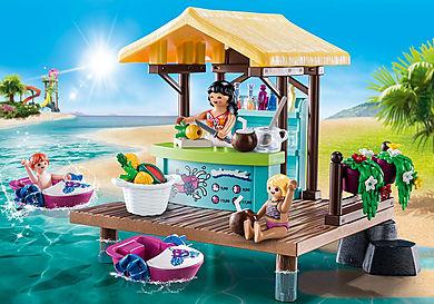 70612 Bar flottant et vacanciers