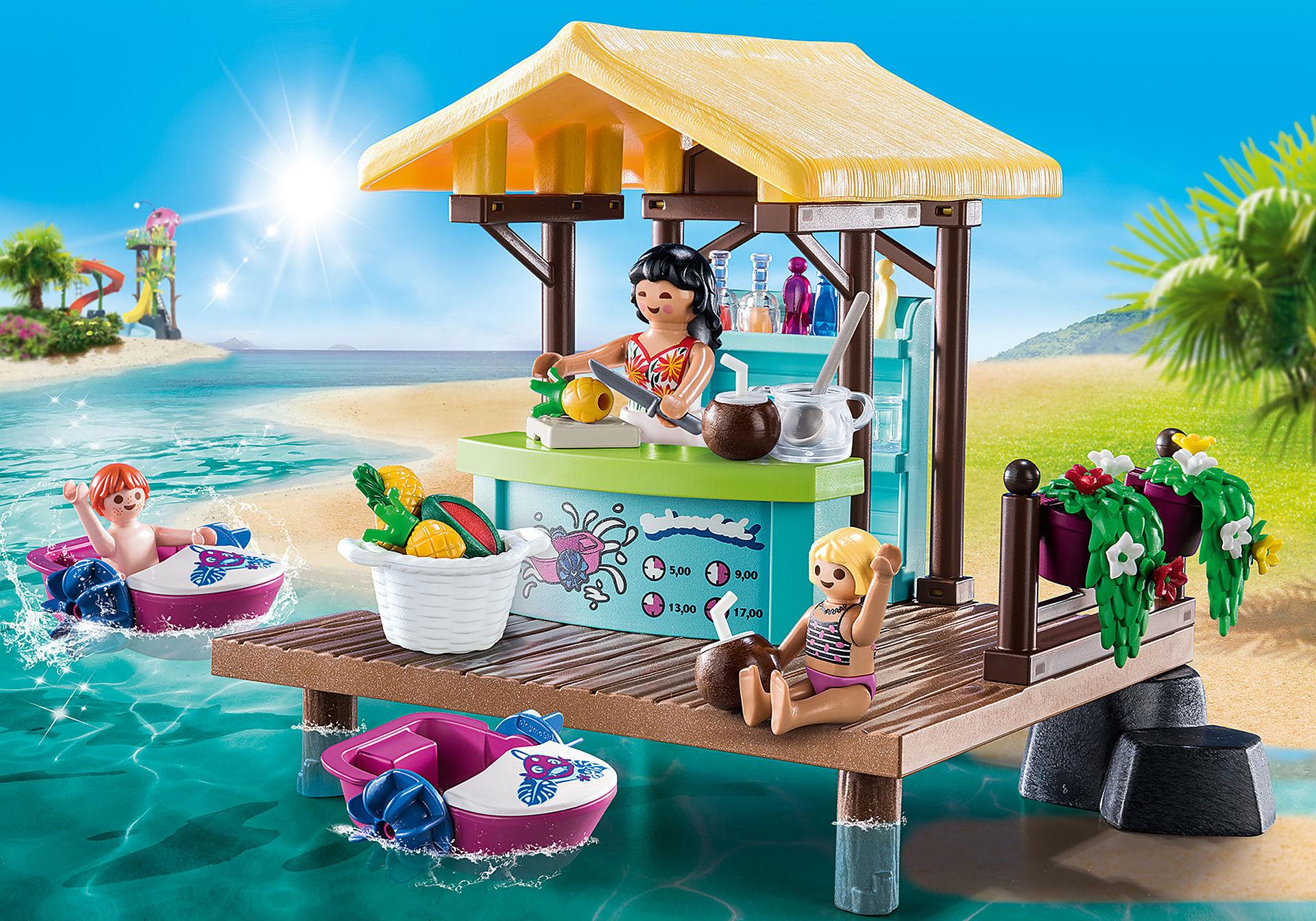 70612 Bar flottant et vacanciers  zoom image1