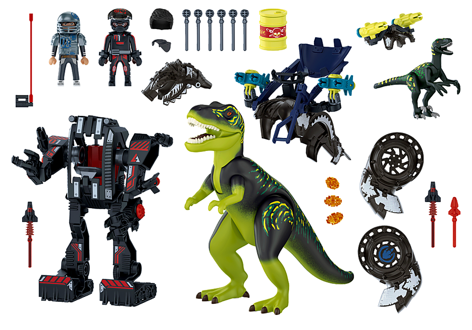 70624 T-Rex: Batalla de los Gigantes detail image 4