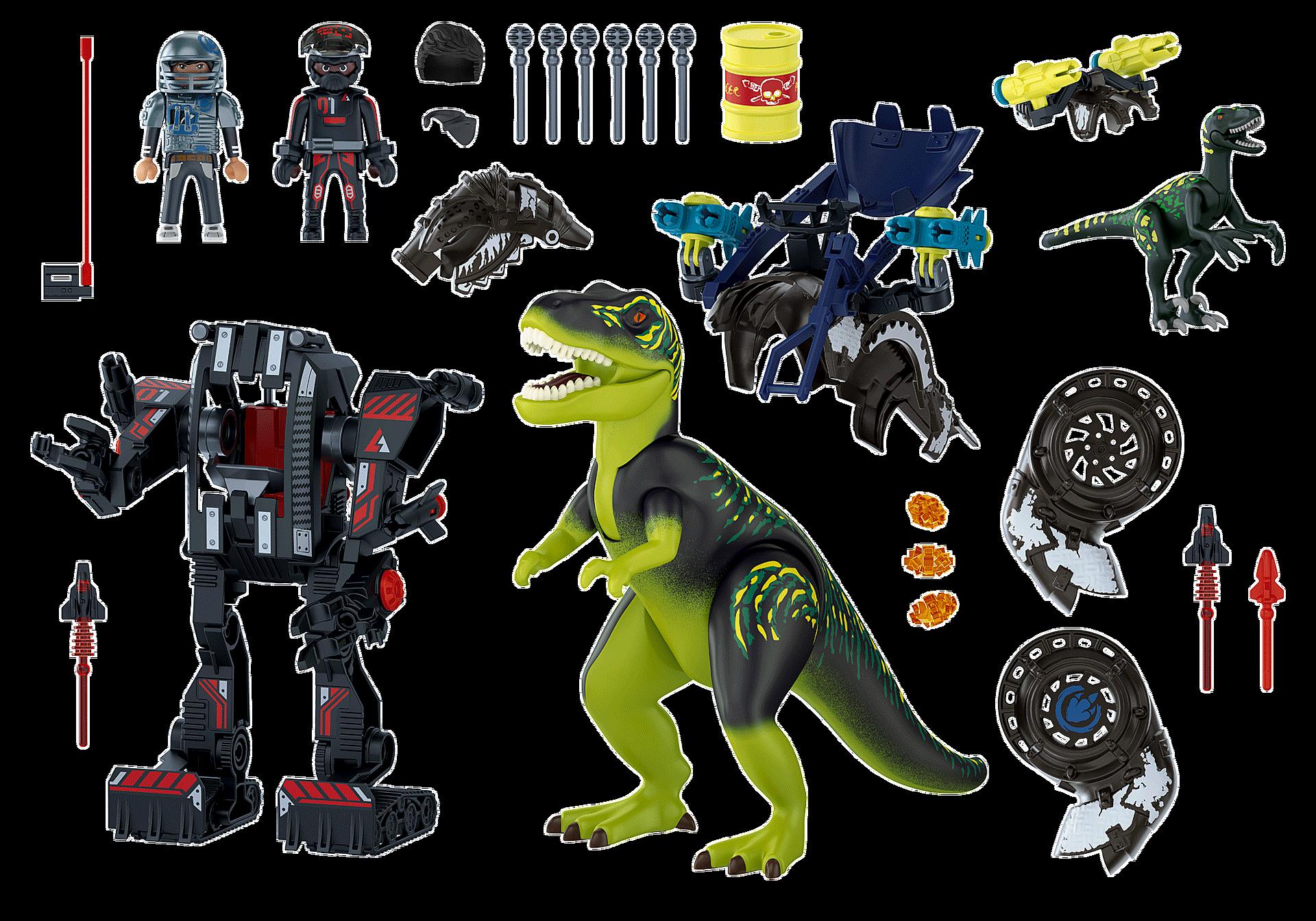 70624 T-Rex: gevecht der giganten zoom image4