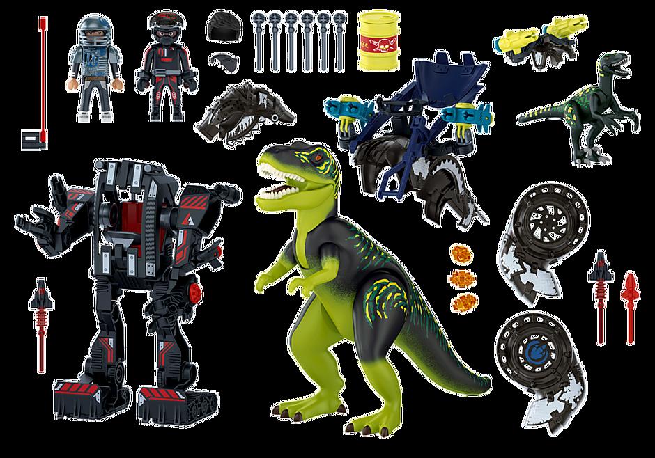70624 Tyrannosaure et robot géant detail image 4