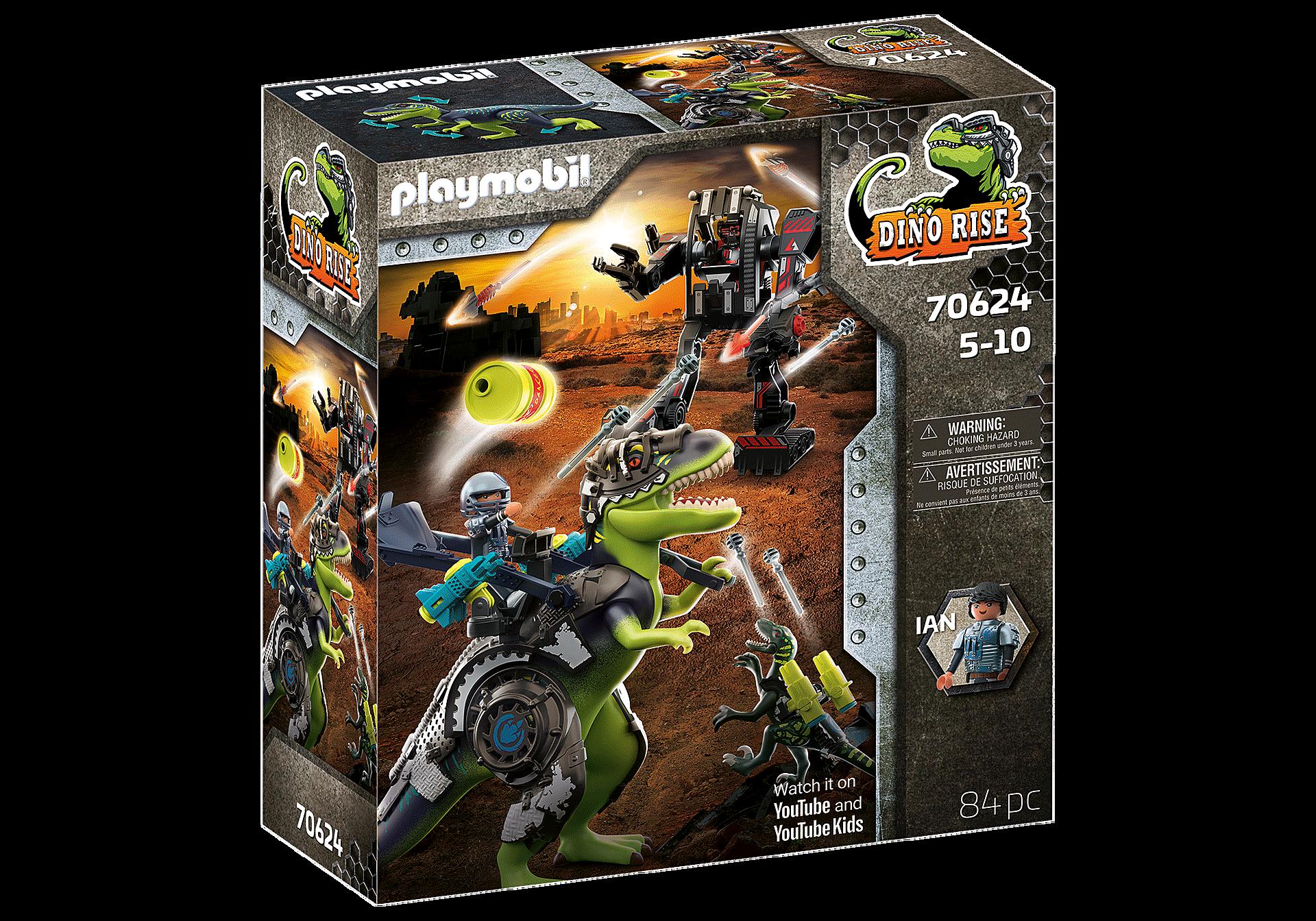 70624 T-Rex: gevecht der giganten zoom image3