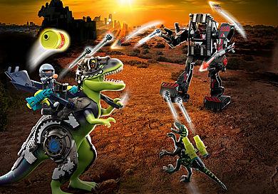 70624 T-Rex: Az óriások ütközete