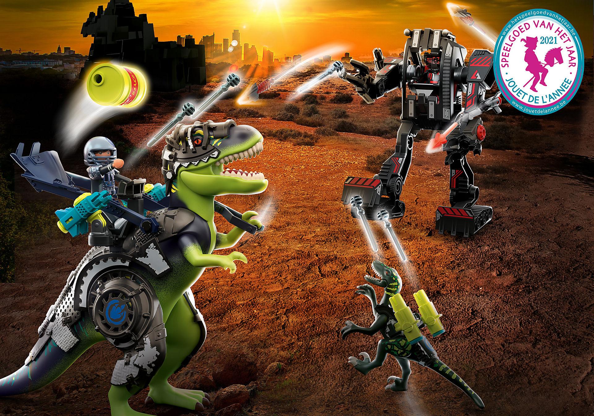 70624 T-Rex: gevecht der giganten zoom image1