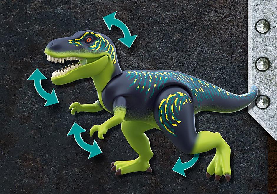 70624 Tyrannosaure et robot géant detail image 5