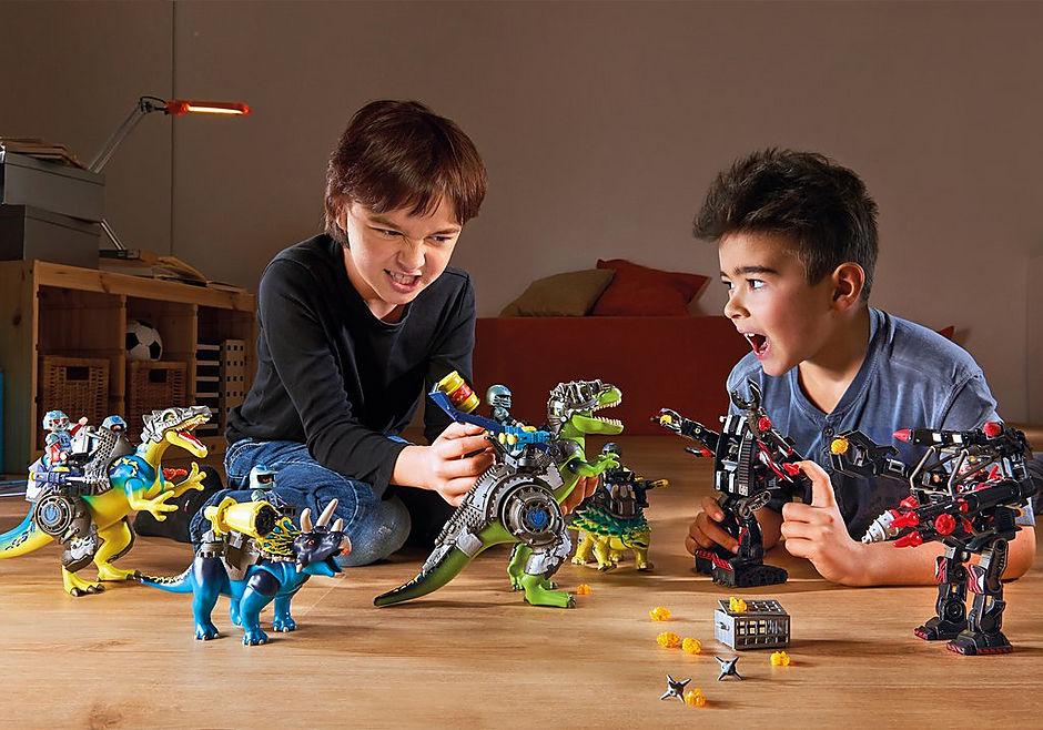 70624 Tyrannosaure et robot géant detail image 7