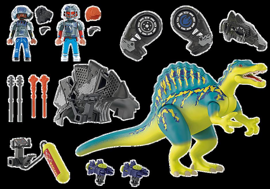 70625 Spinosaure et combattants  detail image 5