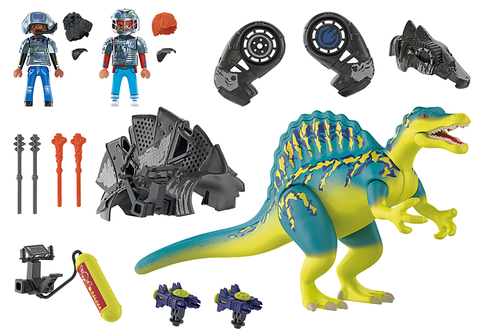 70625 Spinosaurus: Duplo poder de defesa detail image 4