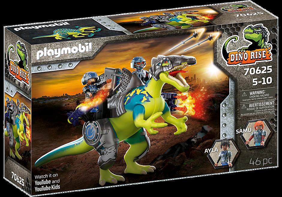 70625 Spinosaure et combattants  detail image 3