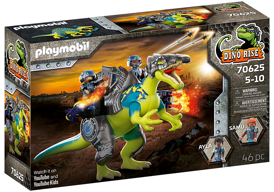 70625 Spinosaure et combattants  detail image 4