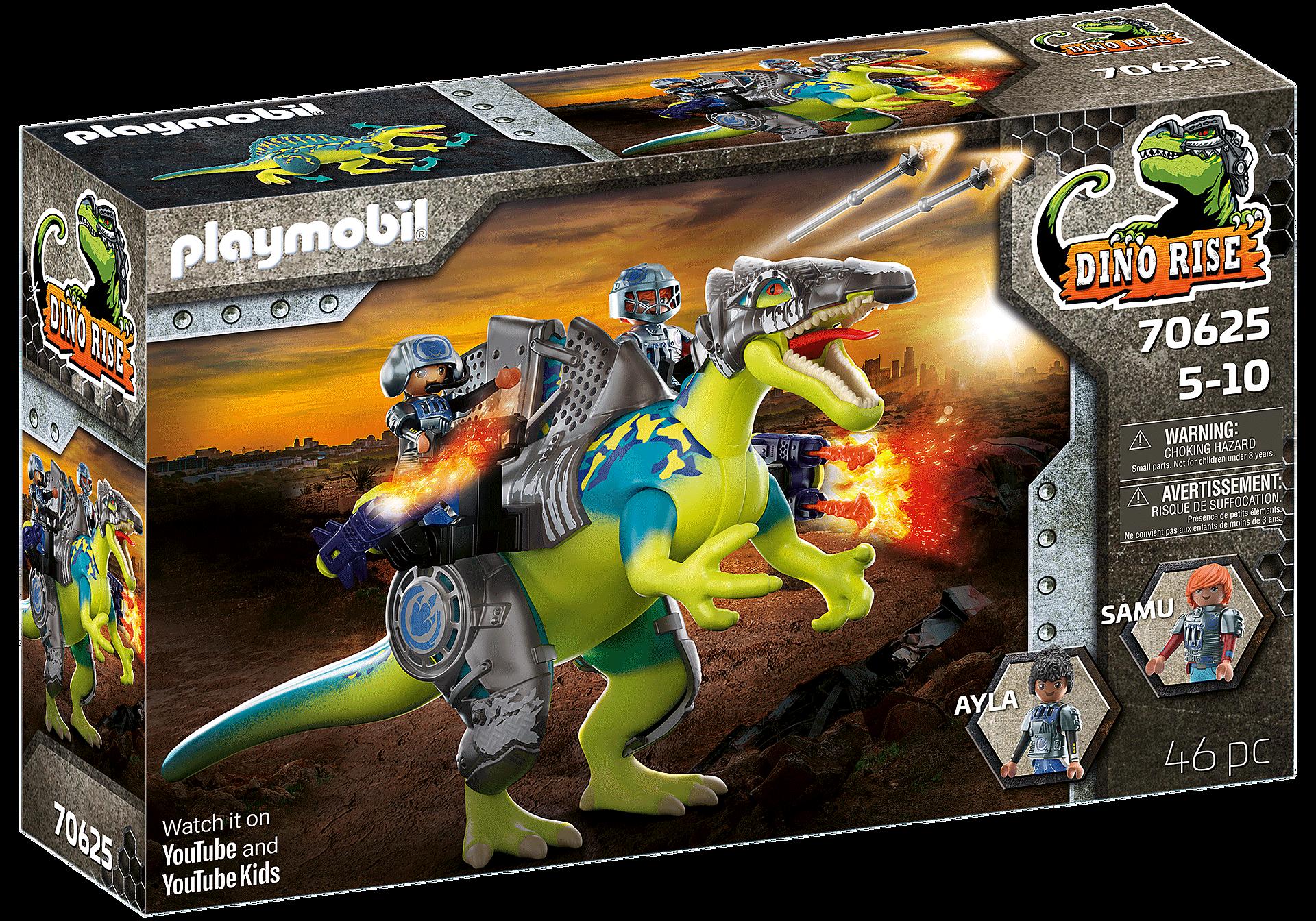 70625 Spinosaurus: Duplo poder de defesa zoom image3
