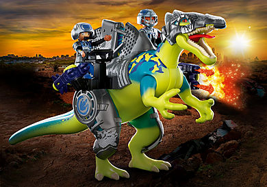 70625 Spinosaure et combattants