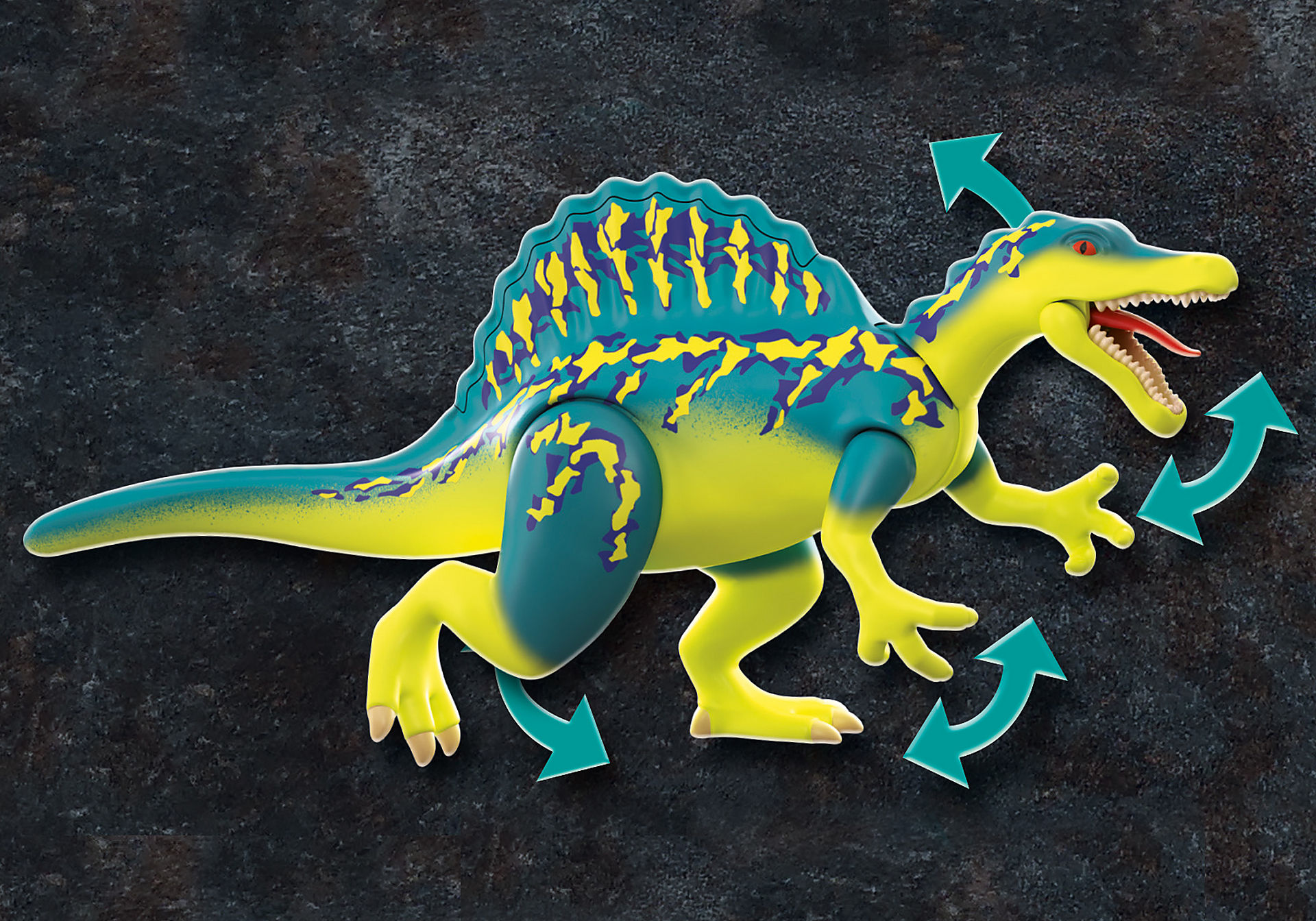 70625 Spinosaure et combattants  zoom image6