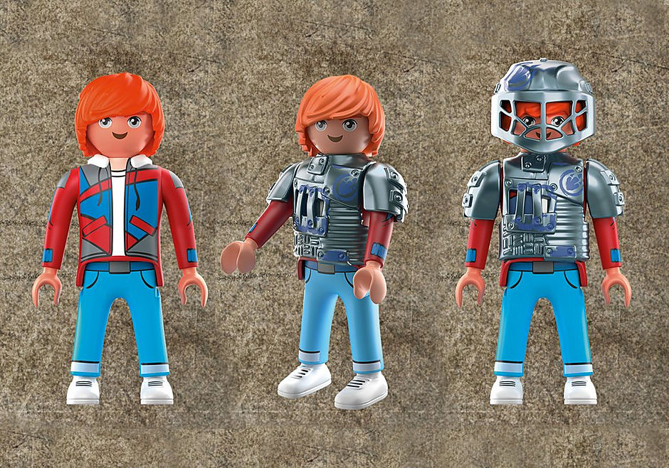 70625 Spinosaure et combattants  detail image 7
