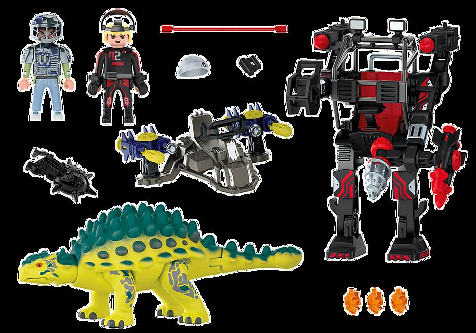 70626 Anchilosauro: difesa del guerriero detail image 4