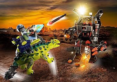 70626 Αγκυλόσαυρος με μαχητή εναντίον ρομπότ