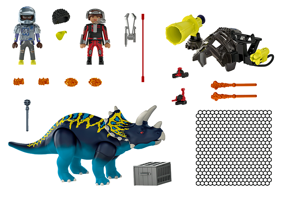 70627 Triceratops: Battle for the Legendary Stones detail image 4