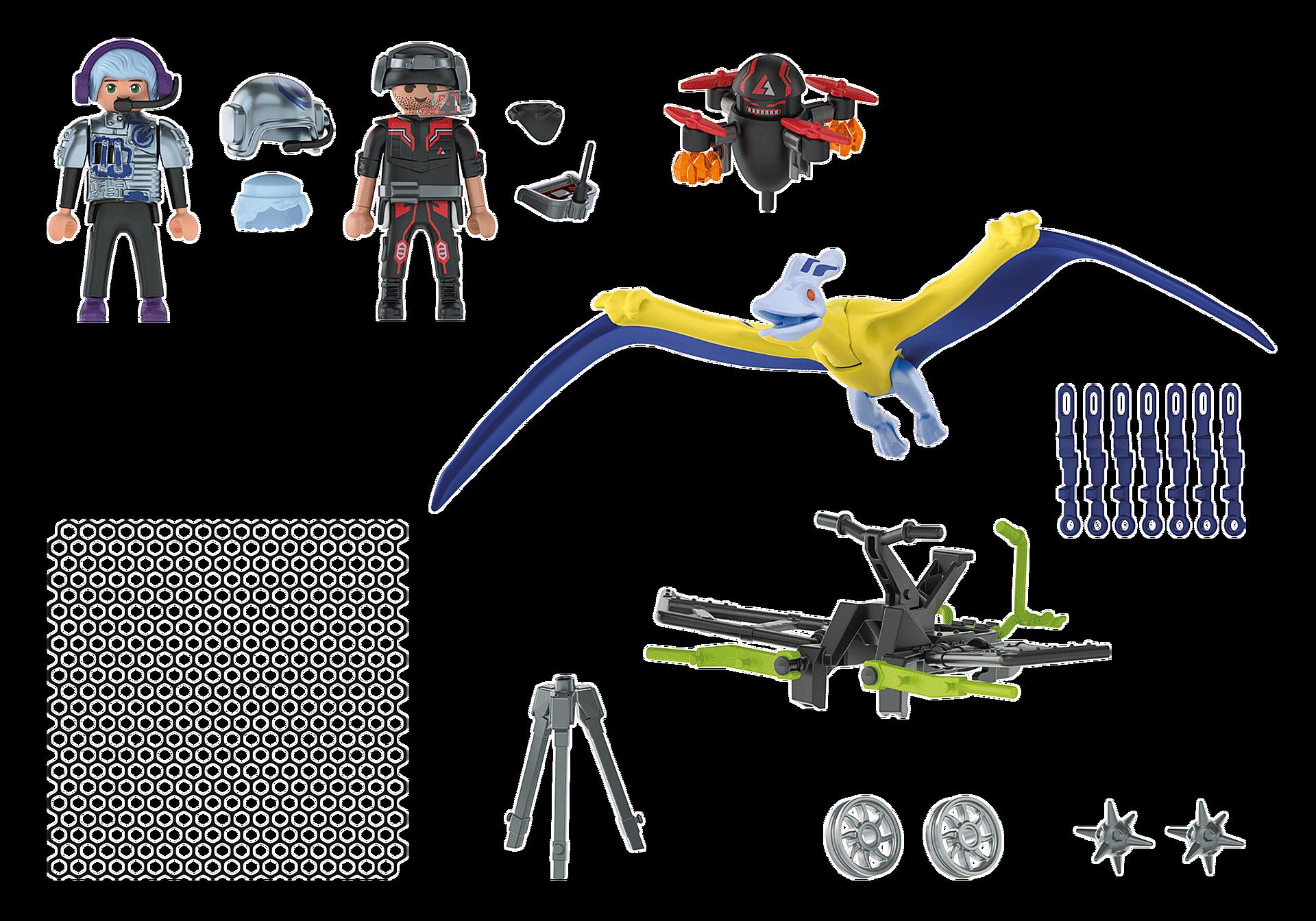 70628 Ptéranodon et drone  zoom image5