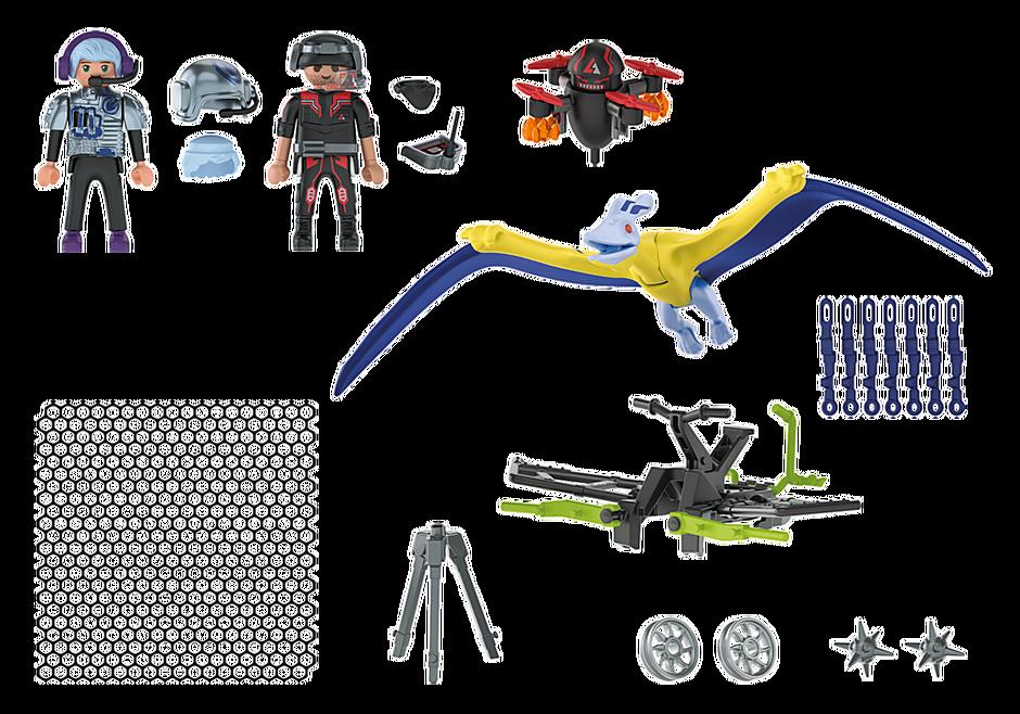 70628 Ptéranodon et drone detail image 4