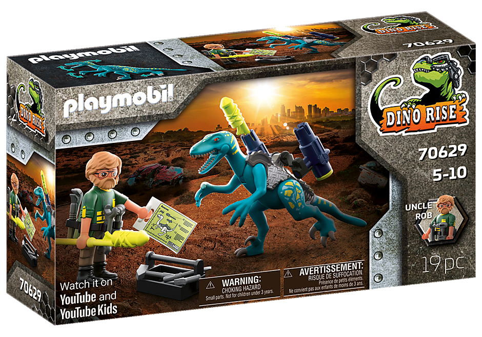 70629 Deinonychus: Redo för strid  detail image 2