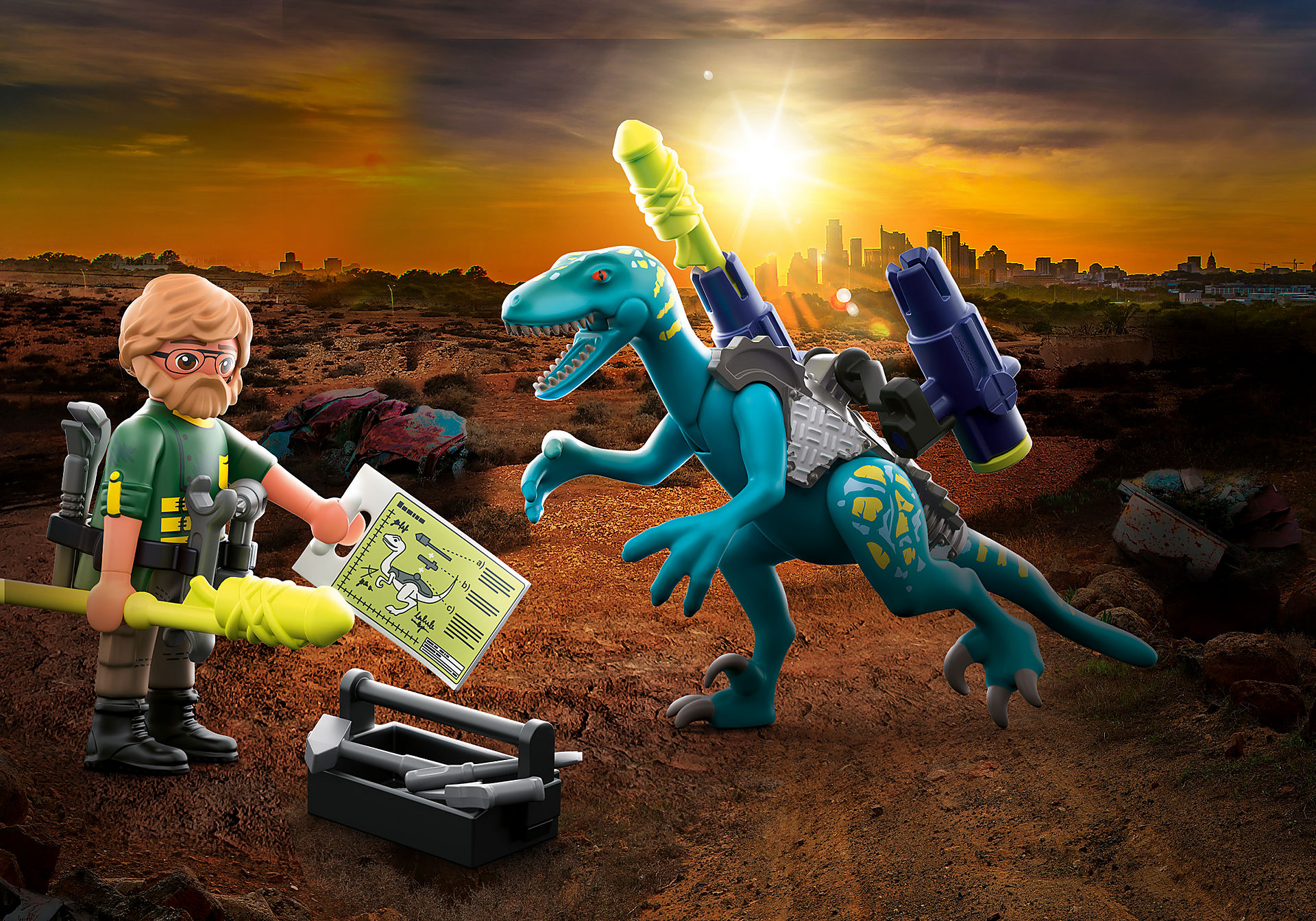 70629 Deinonychus: valmiina taisteluun  zoom image1