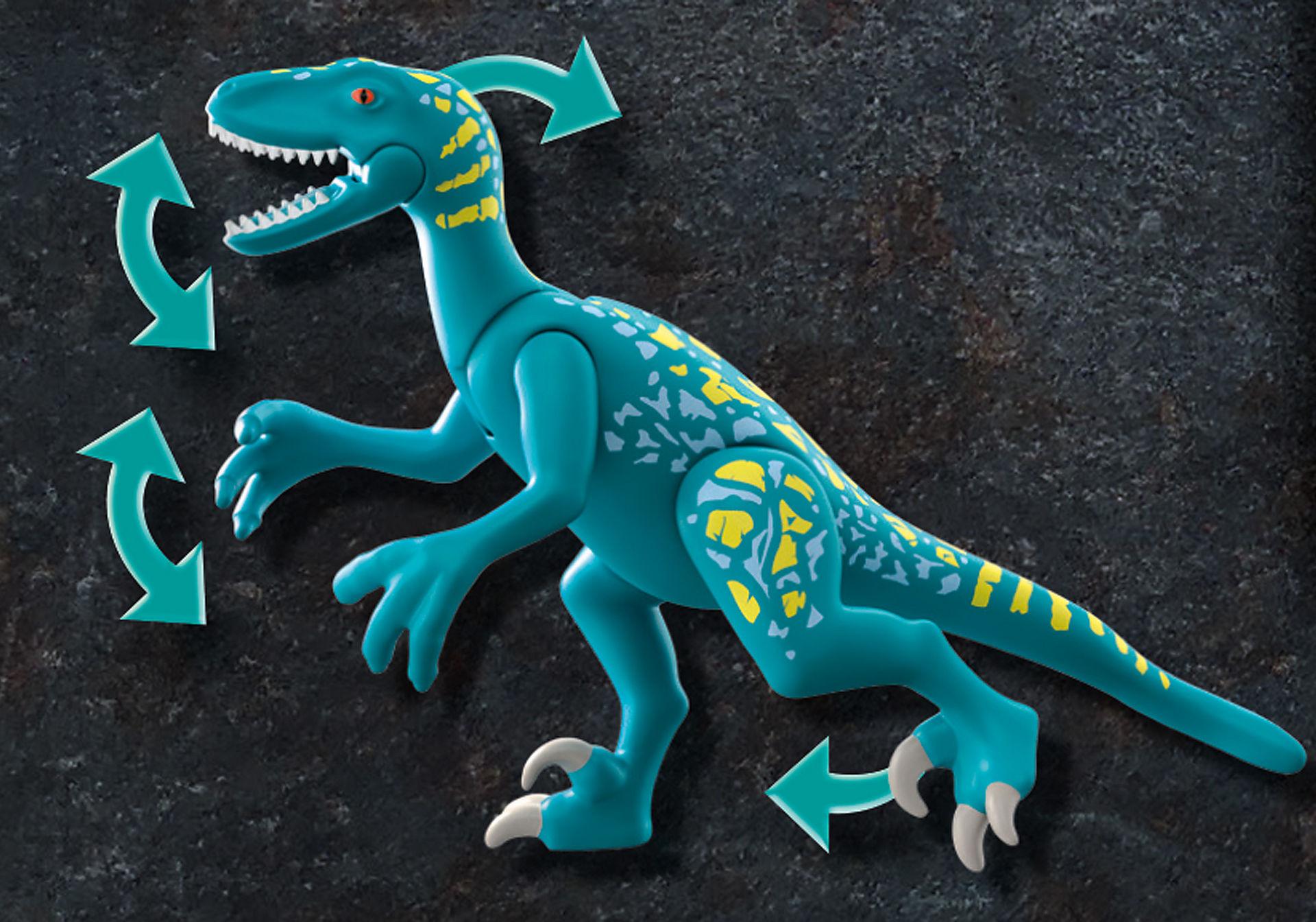 70629 Deinonychus: Redo för strid  zoom image4