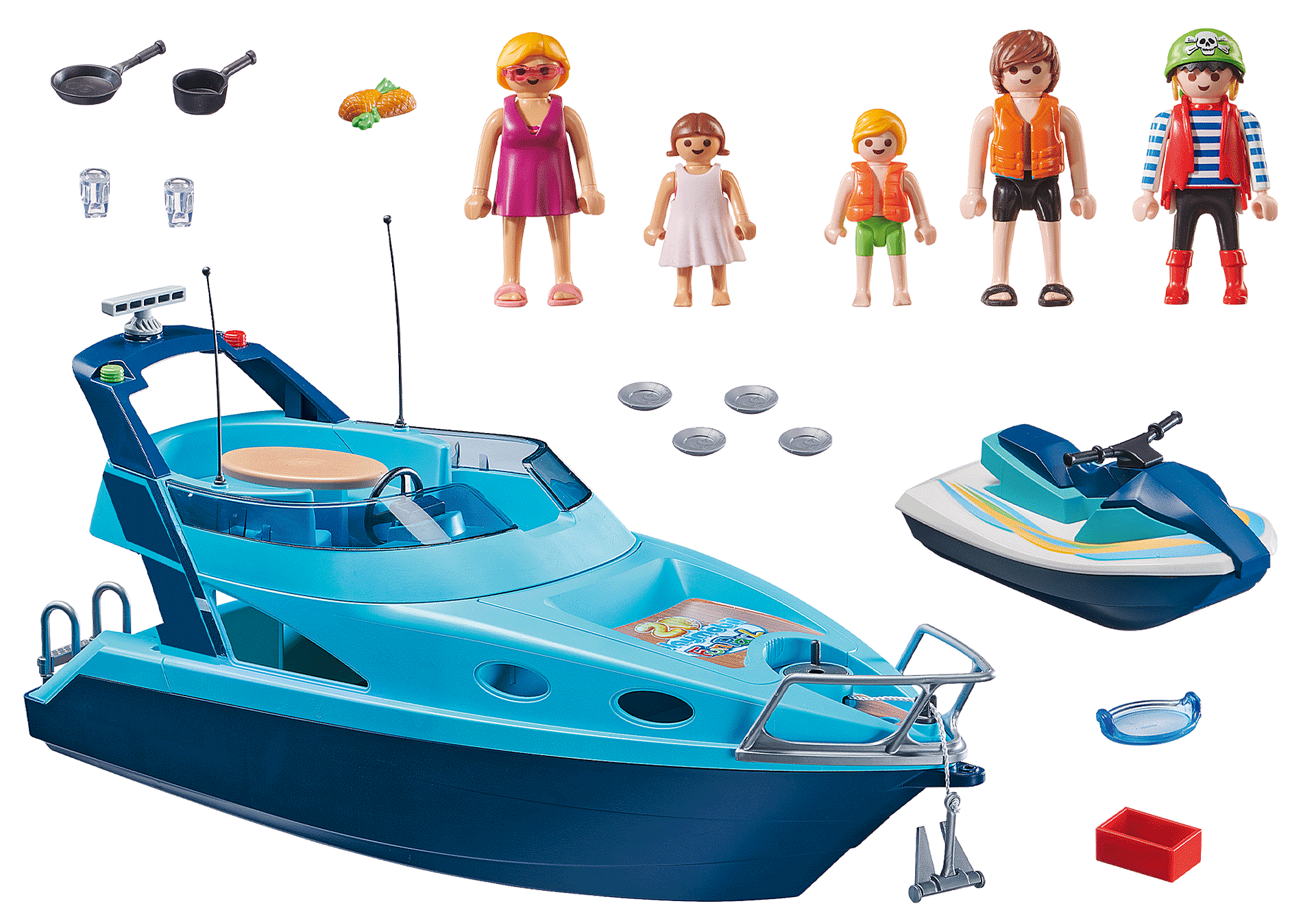 70630 PLAYMOBIL-FunPark Yacht zoom image3