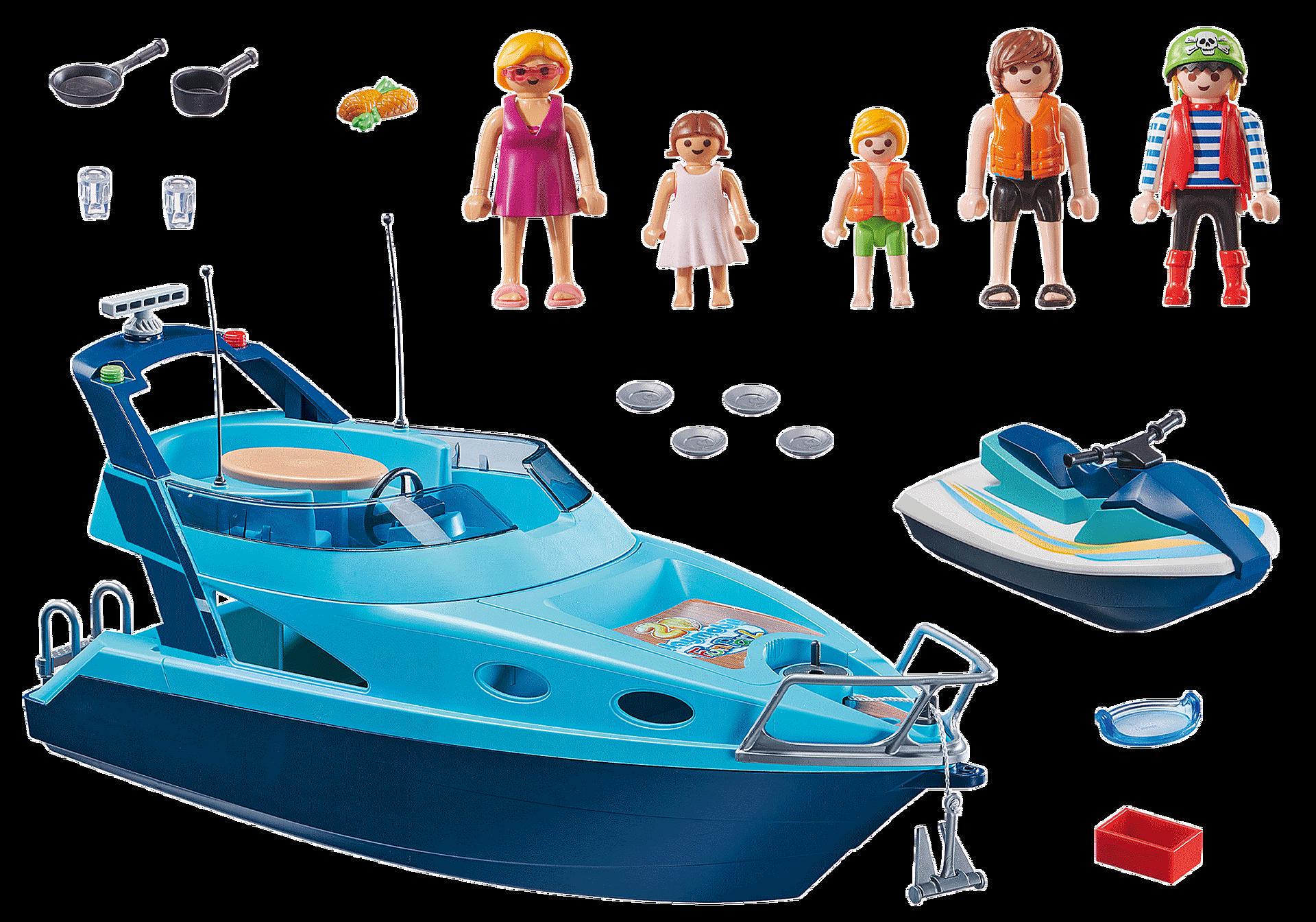 70630 Yacht avec Rico et scooter des mers zoom image3