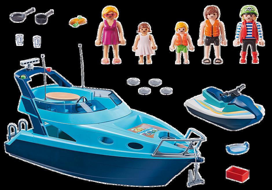 70630 Yacht avec scooter des mers detail image 3