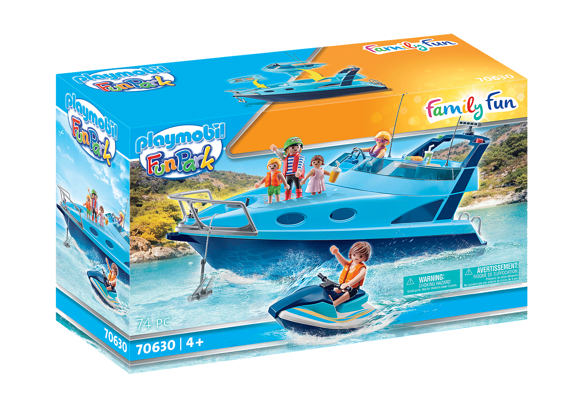 70630 PLAYMOBIL-FunPark Yacht zoom image2