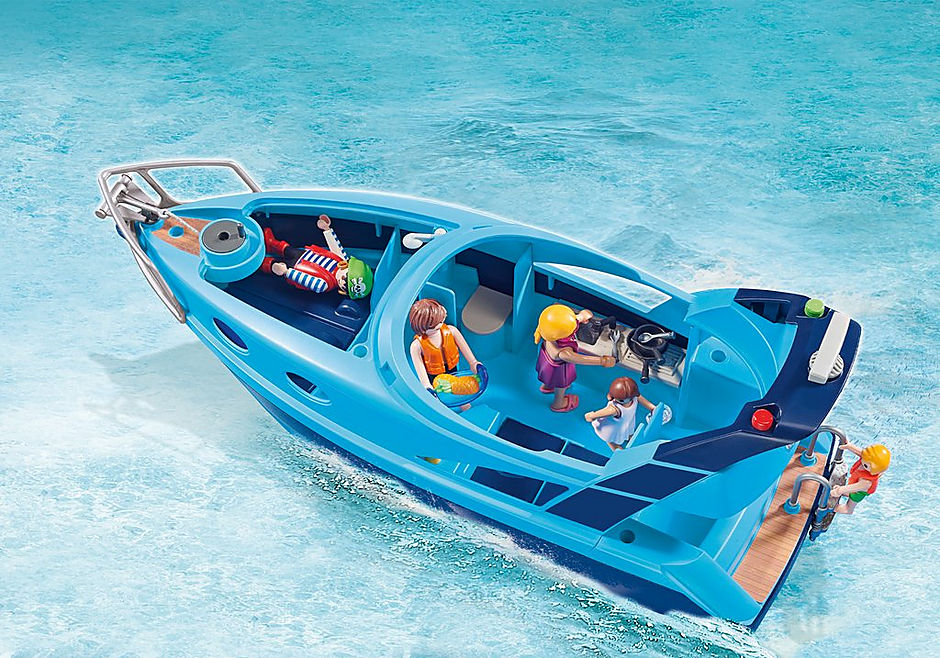 70630 PLAYMOBIL-FunPark Yacht mit Jet Ski detail image 6