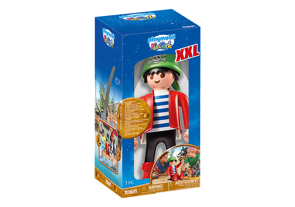 70631 PLAYMOBIL XXL Pirate Rico detail image 2