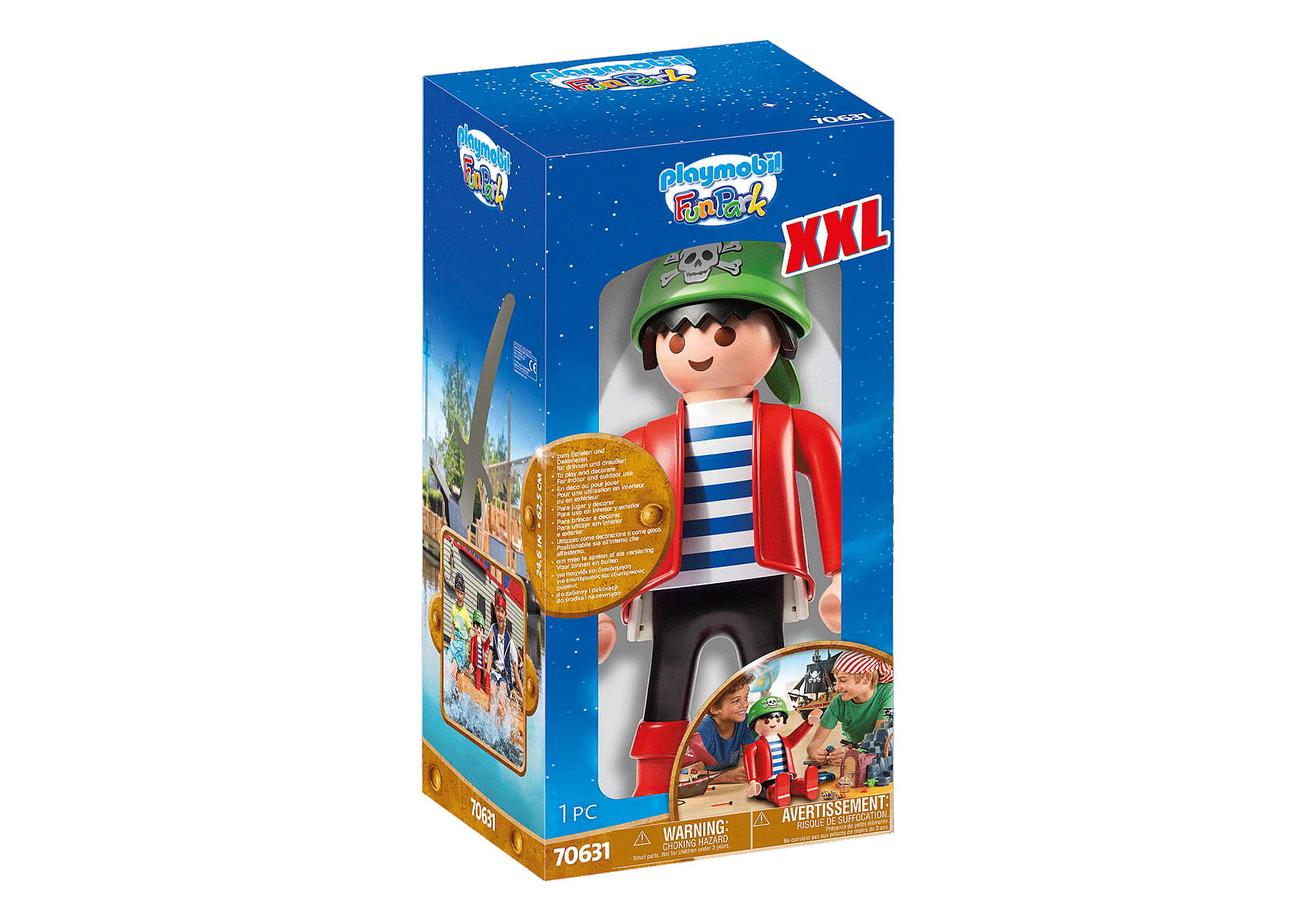 70631 PLAYMOBIL XXL Pirate Rico zoom image2