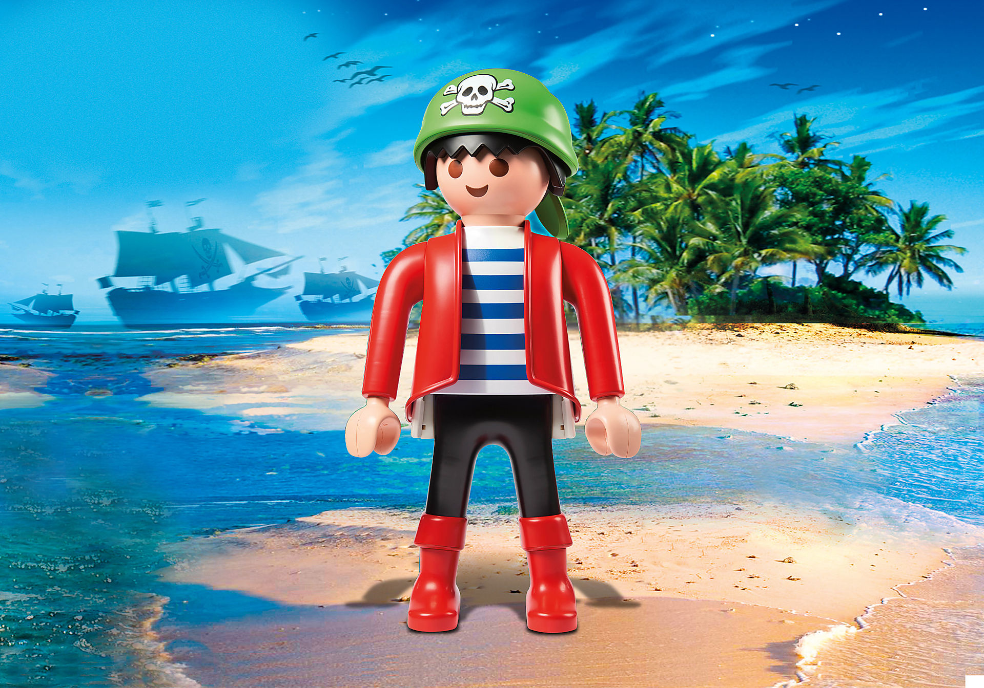70631 PLAYMOBIL XXL Pirate Rico zoom image1