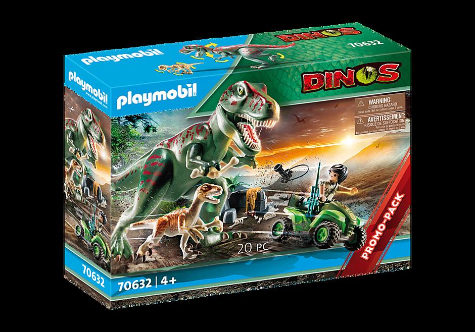 70632 Explorateur avec quad et dinosaures detail image 2