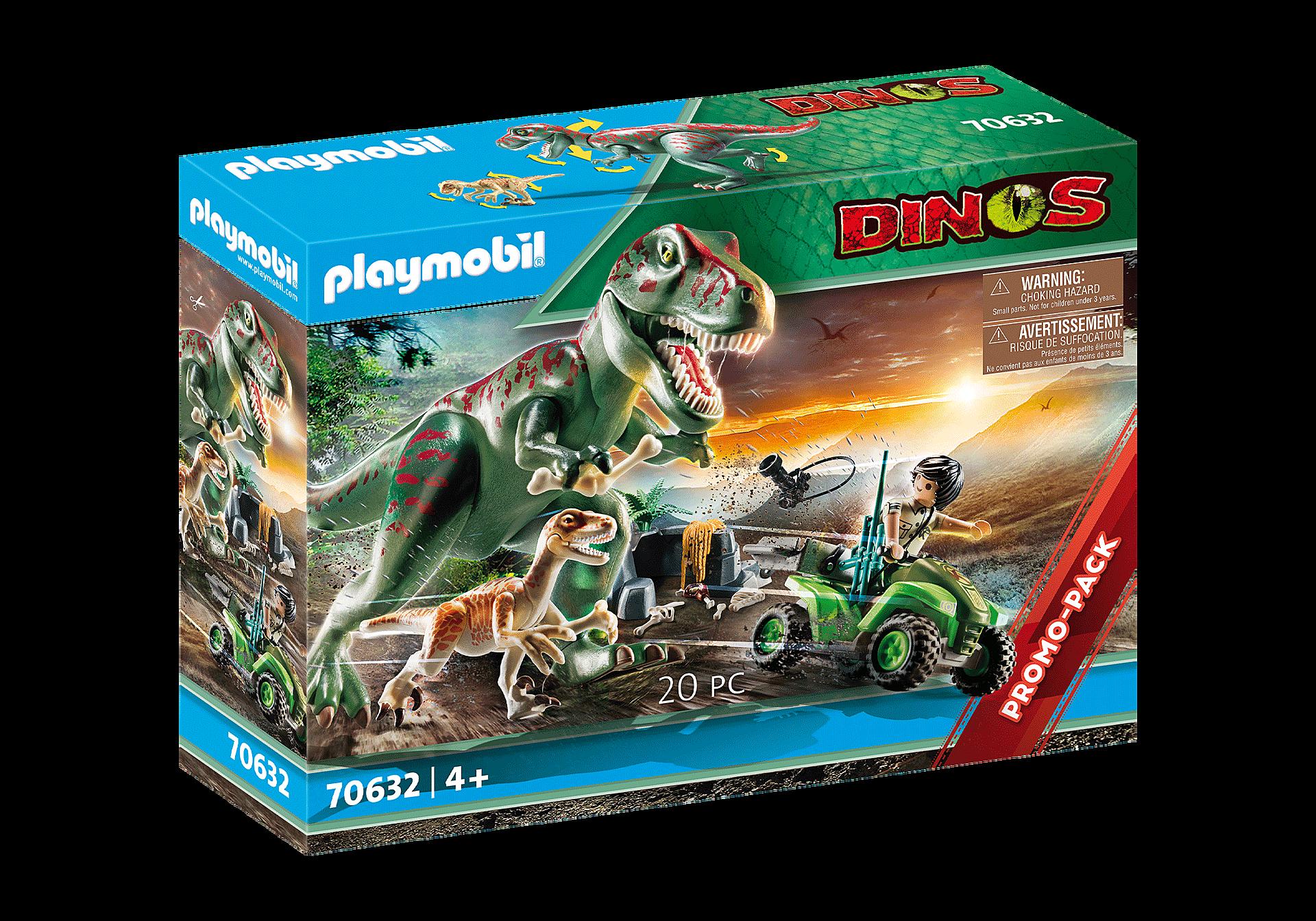 70632 Explorateur avec quad et dinosaures zoom image2