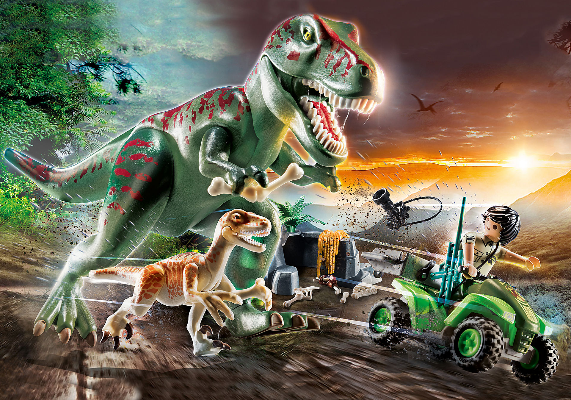 70632 T-Rex angreb zoom image1