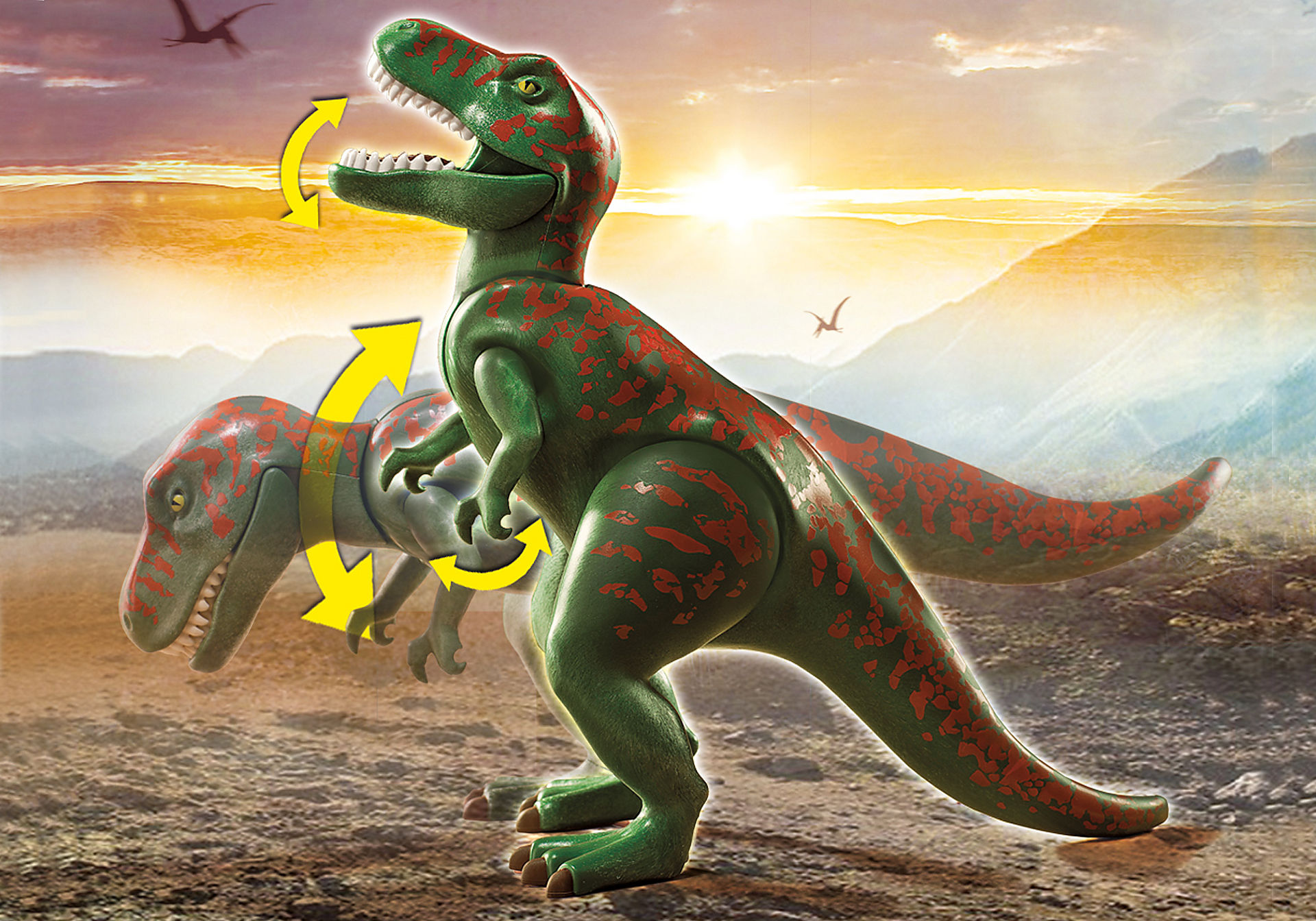 70632 Explorateur avec quad et dinosaures zoom image4