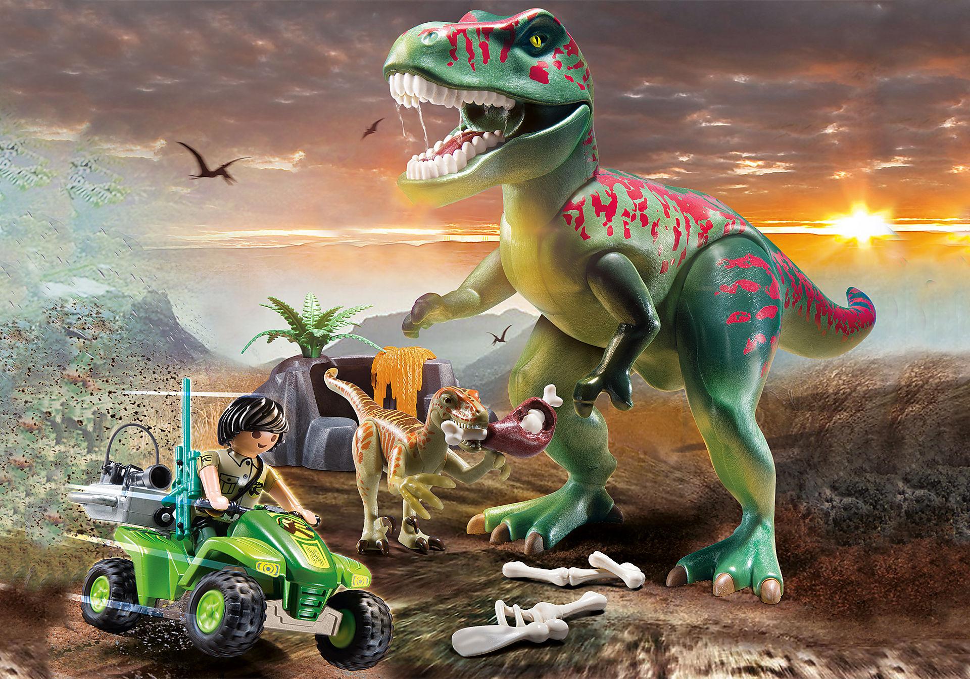 70632 Explorateur avec quad et dinosaures zoom image5