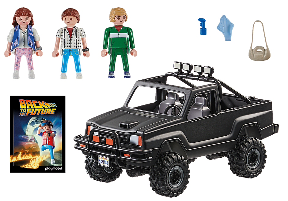 70633 Back to the Future Camioneta Pick-up de Marty detail image 4