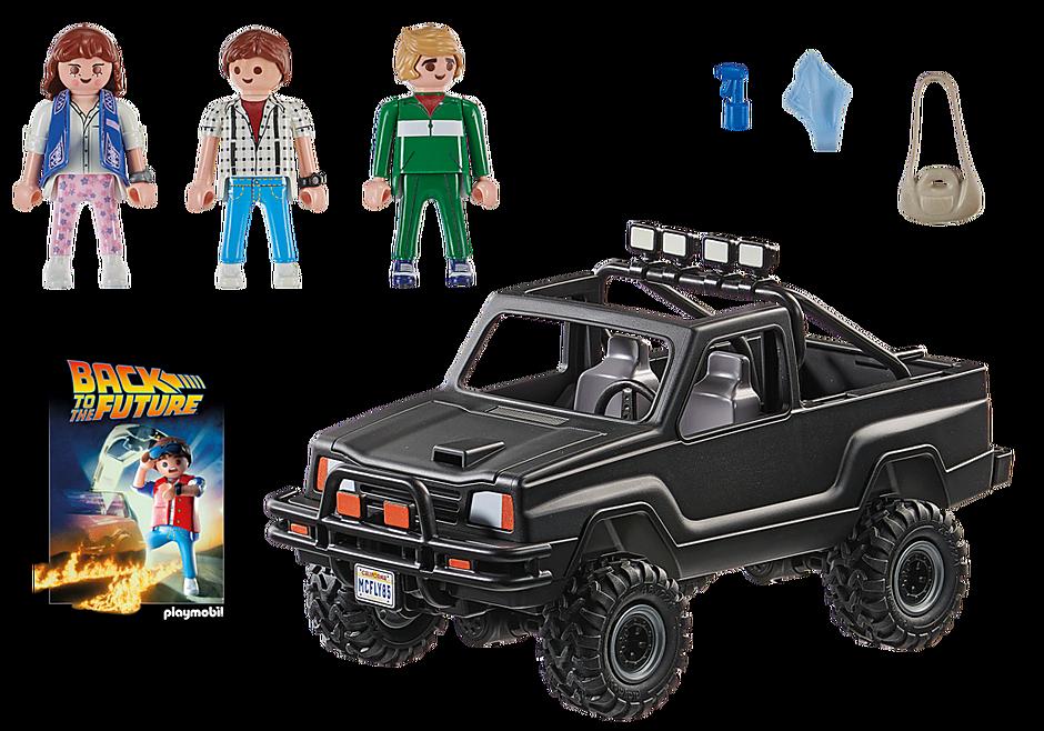 70633 Back to the Future Marty's avopakettiauto detail image 3