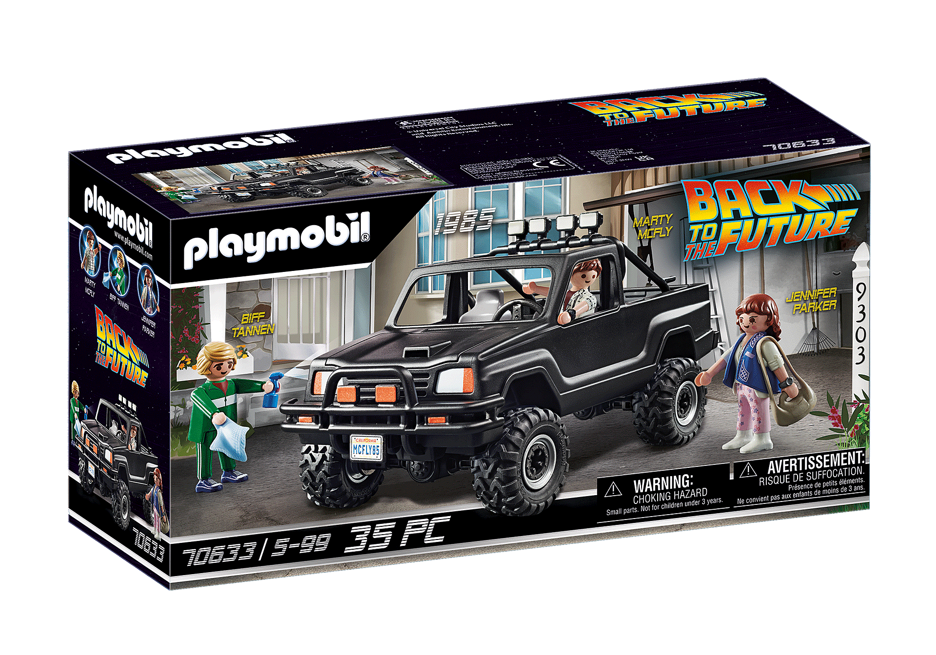 70633 Back to the Future Marty's Pick-up Truck  zoom image2