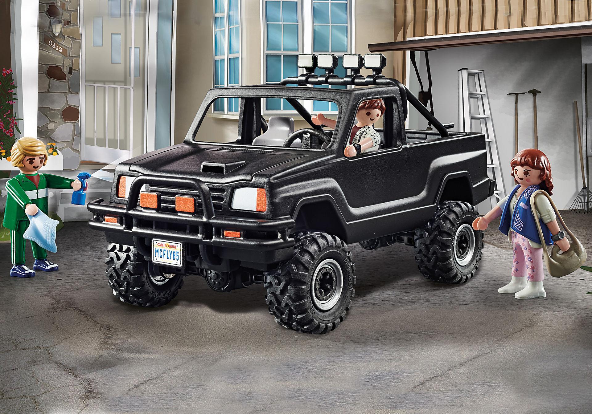 70633 Back to the Future Marty's avopakettiauto zoom image1