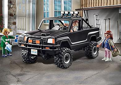 70633 Back to the Future Marty's avopakettiauto