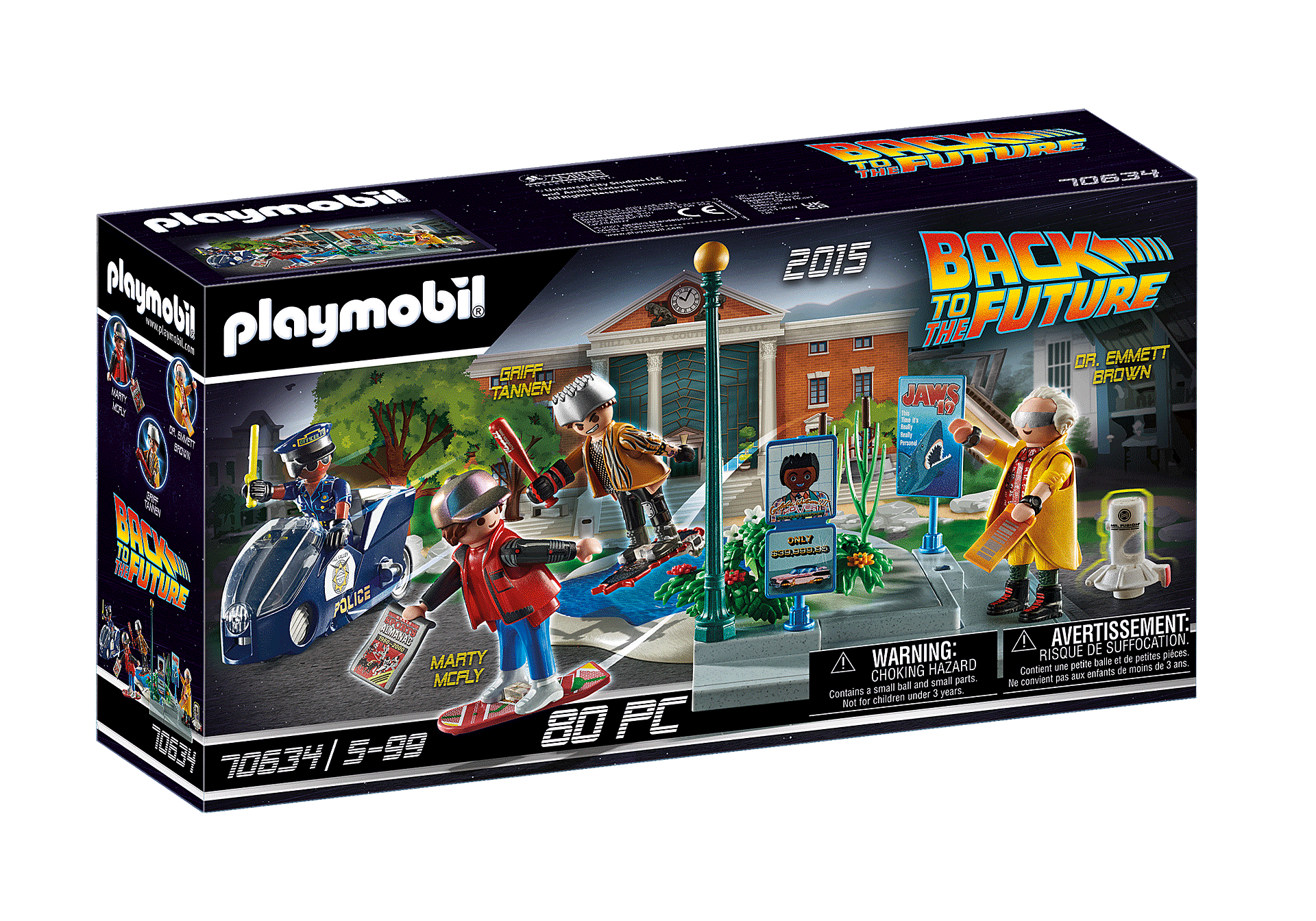 70634 Back to the Future Part II Verfolgung mit Hoverboard zoom image2
