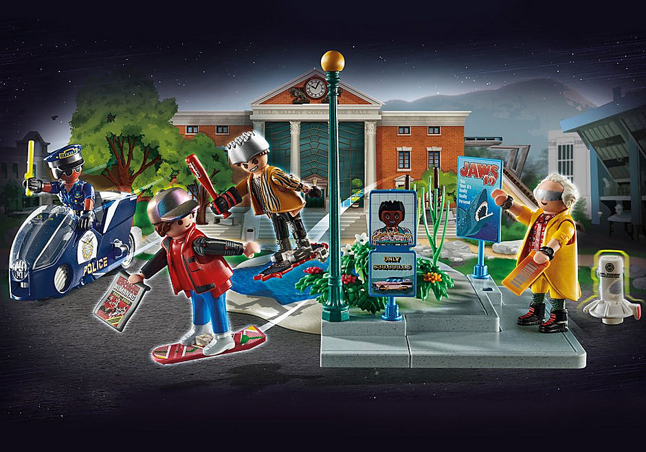 70634  Back to the Future - Partie II - Course d'hoverboard  detail image 1