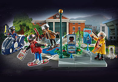 70634 Back to the Future Part II Hoverboard Chase